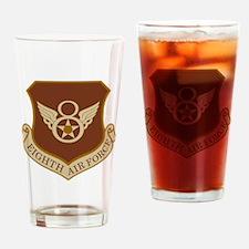 USAF-8th-AF-Shield-Desert Drinking Glass