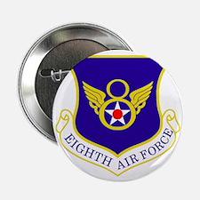 """USAF-8th-AF-Shield-Bonnie 2.25"""" Button"""