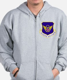 USAF-8th-AF-Shield-Bonnie Zip Hoodie