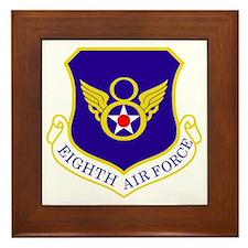USAF-8th-AF-Shield-Bonnie Framed Tile