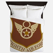 USAF-8th-AF-Shield-Desert Queen Duvet