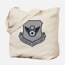 USAF-8th-AF-Shield-Subdued-ABU Tote Bag
