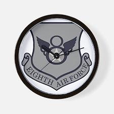 USAF-8th-AF-Shield-Subdued-ABU Wall Clock