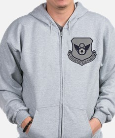 USAF-8th-AF-Shield-Subdued-ABU Zip Hoodie