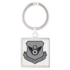 USAF-8th-AF-Shield-Subdued-ABU Square Keychain