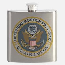 USAF-Defenders-Blue-White-Gold-2 Flask