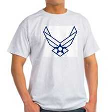 USAF-Symbol-White-On-Blue T-Shirt