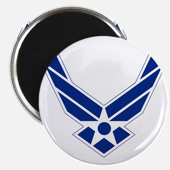 USAF-Symbol-Blue-On-White Magnet