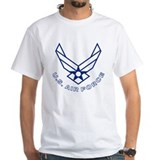 Air force Mens White T-shirts