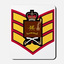 British-Army-Welsh-Guards-CSGT-Ceremonia Mousepad