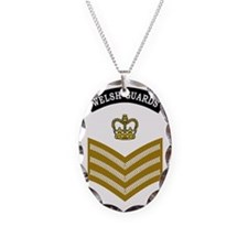 British-Army-Welsh-Guards-CSgt Necklace Oval Charm