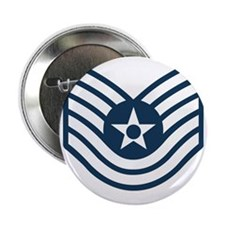 "USAF-TSgt-Blue-Four-Inches 2.25"" Button"