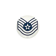 USAF-TSgt-Blue-Four-Inches Mini Button