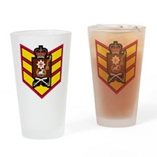 British-Army-Coldstream-Guards-CSgt Drinking Glass