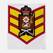 British-Army-Coldstream-Guards-CSgt- Throw Blanket