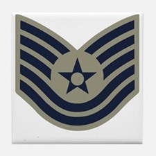 USAF-TSgt-ABU-Four-Inches Tile Coaster
