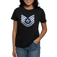 USAF-TSgt-Blue Tee