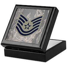 USAF-TSgt-Mousepad-ABU Keepsake Box