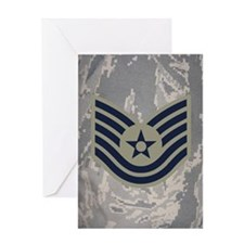 USAF-TSgt-Mousepad-ABU Greeting Card