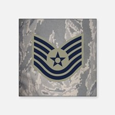 "USAF-TSgt-Mousepad-ABU Square Sticker 3"" x 3"""