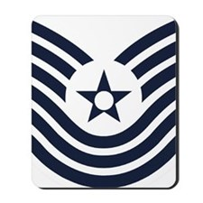 USAF-MSgt-Old-Inverse Mousepad