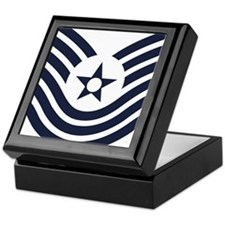 USAF-MSgt-Old-Inverse Keepsake Box