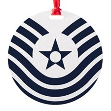 USAF-MSgt-Old-Inverse Ornament