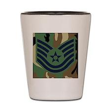 USAF-TSgt-Mousepad-Woodland Shot Glass