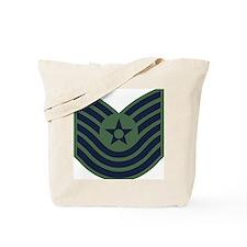 USAF-MSgt-Old-Green Tote Bag