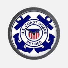 USCG-Retired-Bonnie Wall Clock