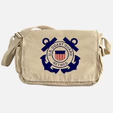 USCG-Retired-Bonnie Messenger Bag
