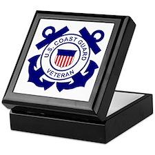 USCG-Veteran-Bonnie Keepsake Box