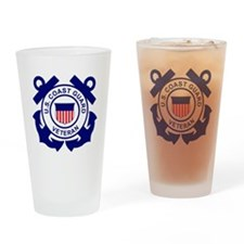 USCG-Veteran-Bonnie Drinking Glass