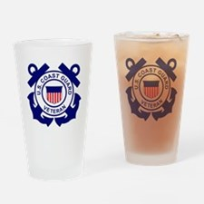USCG-Veteran-Bonnie Drinking Glass