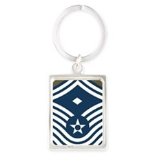 USAF-First-CMSgt-Old-Journal-4 Portrait Keychain