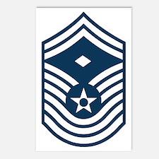 USAF-First-CMSgt-Old-Blue Postcards (Package of 8)
