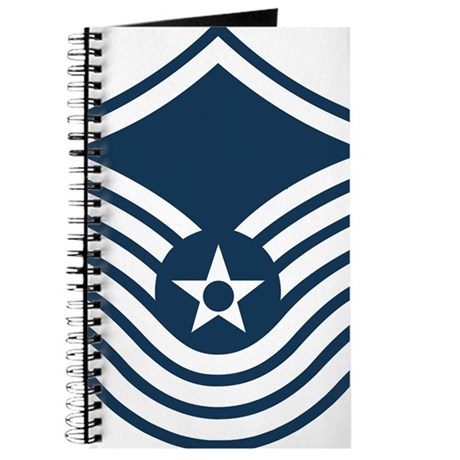 USAF-SMSgt-Old-Blue-4-Inches Journal