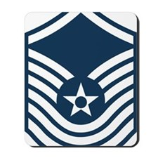 USAF-SMSgt-Old-Blue-4-Inches Mousepad