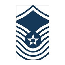 USAF-SMSgt-Old-Blue-4-Inches Decal