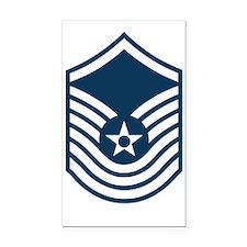 USAF-SMSgt-Old-Blue-PNG Rectangle Car Magnet