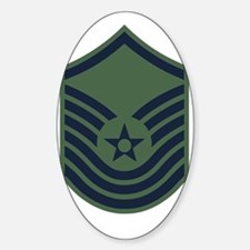 USAF-SMSgt-Old-Green-PNG Decal