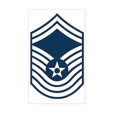 USAF-CMSgt-Old-Blue Decal