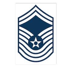 USAF-CMSgt-Old-Blue Postcards (Package of 8)