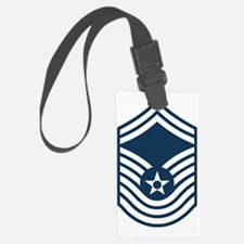 USAF-CMSgt-Old-Blue Luggage Tag