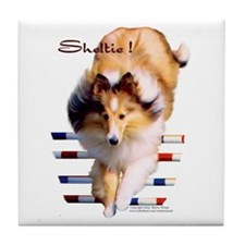 Sheltie! Tile Coaster
