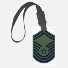 USAF-CMSgt-Old-Green Luggage Tag