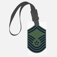 USAF-CMSgt-Old-Green-PNG Luggage Tag