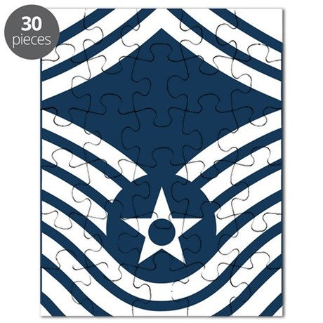 USAF-CMSgt-Old-Blue-4-Inches Puzzle