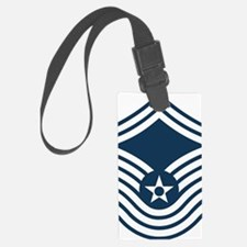 USAF-CMSgt-Old-Blue-4-Inches Luggage Tag