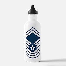 USAF-CMSgt-Old-Blue-4- Water Bottle